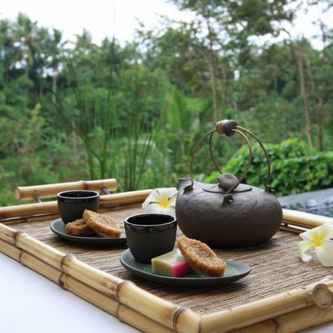 Villa Shamballa Ubud Bali - Afternoon Tea