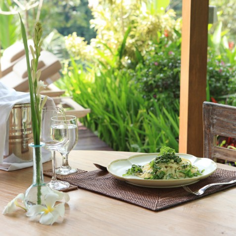 Villa Shamballa Ubud Bali - Alfresco Dining