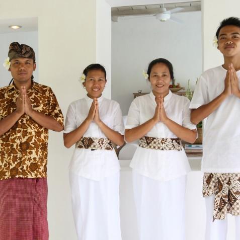Villa Shamballa Ubud Bali - The Staff