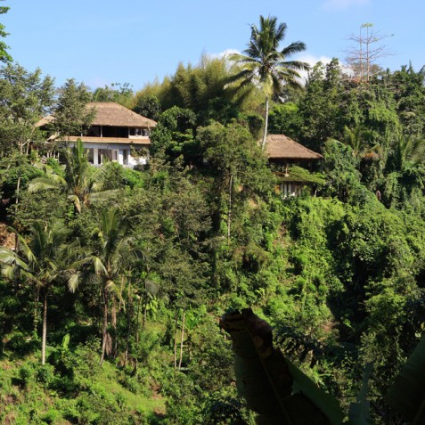Villa Shamballa Ubud Bali - View of the Villa