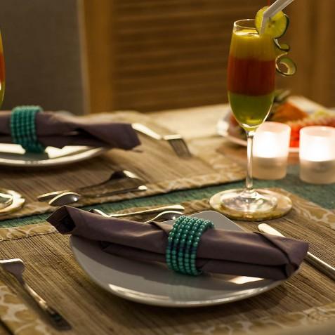 Villa Sky - 4S Villas - Romantic Dining - Seminyak, Bali