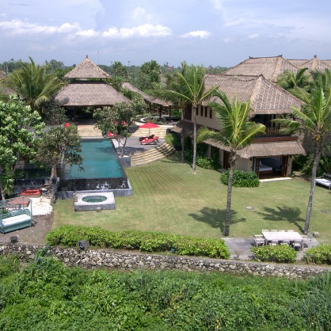 Villa Sound of the Sea Bali - Aerial View - Canggu, Bali