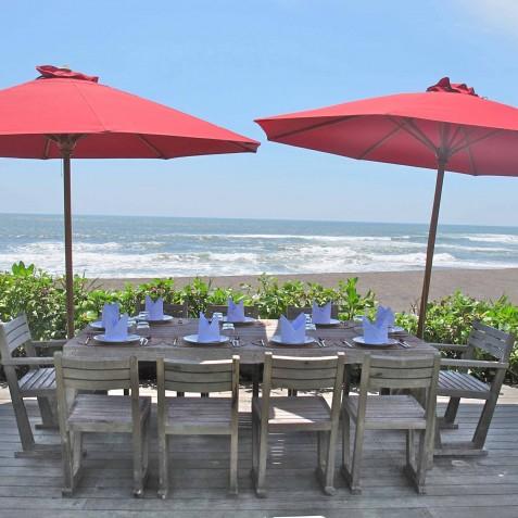 Villa Sound of the Sea Bali - Alfresco Dining - Canggu, Bali