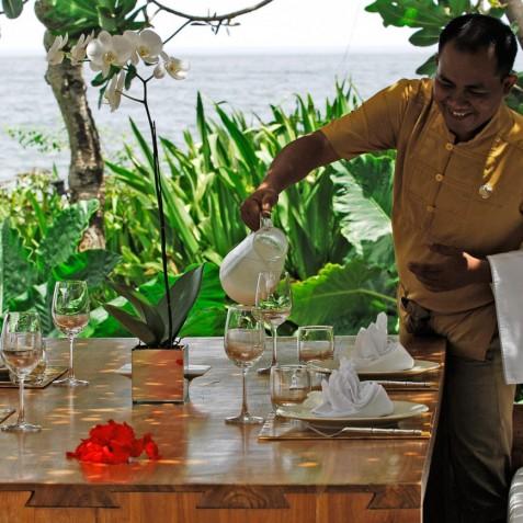 Villa Sound of the Sea Bali - Breakfast Bale - Canggu, Bali
