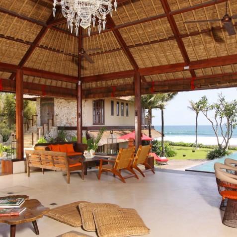 Villa Sound of the Sea Bali - Open Living Area - Canggu, Bali