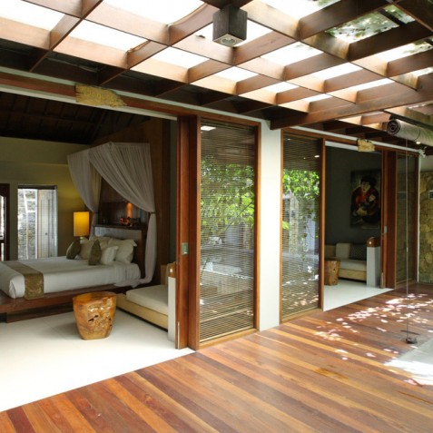 Villa Swarapadi, Ubud, Bali - Guest Suite One Terrace
