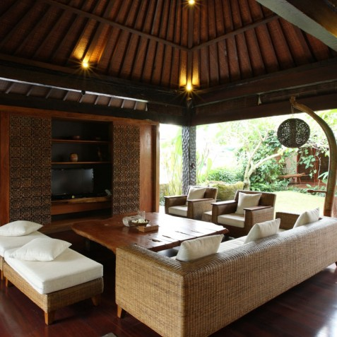 Villa Swarapadi, Ubud, Bali - Lounge
