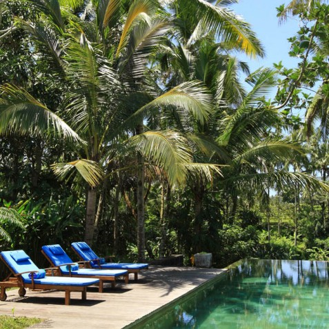 Villa Swarapadi, Ubud, Bali - Pool and Sun Deck