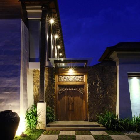 Villa Swarapadi, Ubud, Bali - Entrance