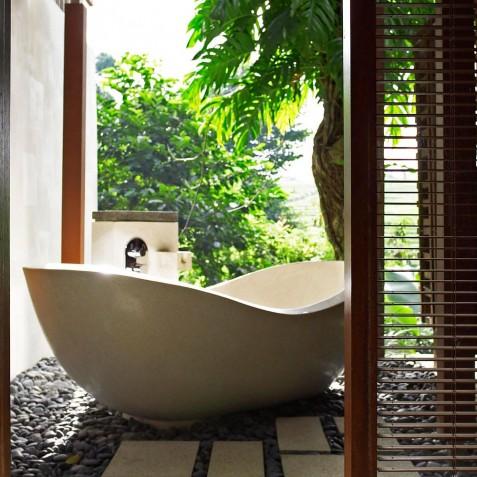 Villa Tukad Pangi - Open Air Bath - Canggu, Bali