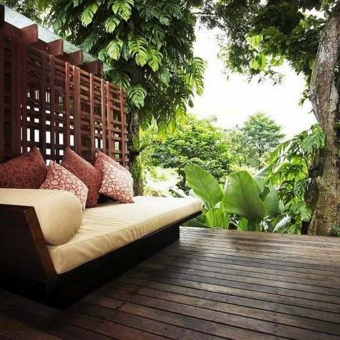 Villa Tukad Pangi - Riverside Deck - Canggu, Bali