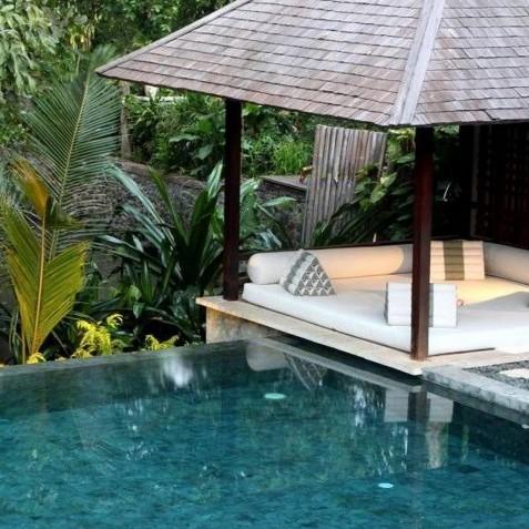 Villa Tukad Pangi - Riverside Pavilion - Canggu, Bali
