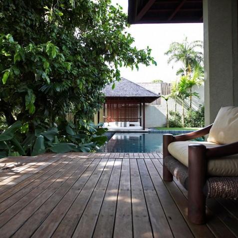 Villa Tukad Pangi - Bedroom Terrace - Canggu, Bali