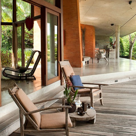 Villa Umah Tampih, Ubud, Bali - Guest Suite Balcony