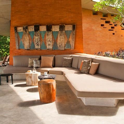 Villa Umah Tampih, Ubud, Bali - Open Air Lounge