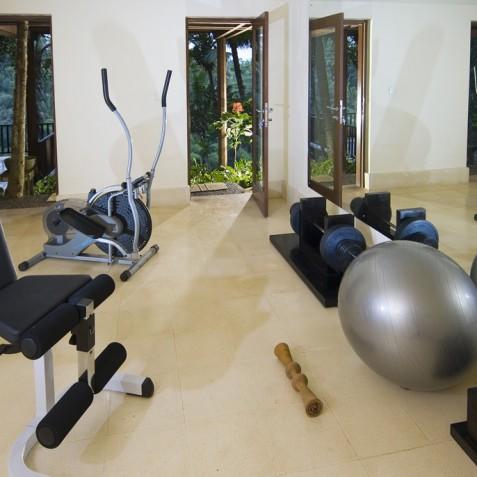 Villa Vajra, Ubud, Bali - The Gym