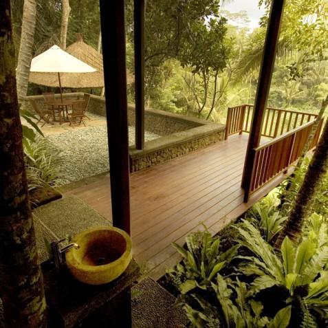 Villa Vajra, Ubud, Bali - Terrace