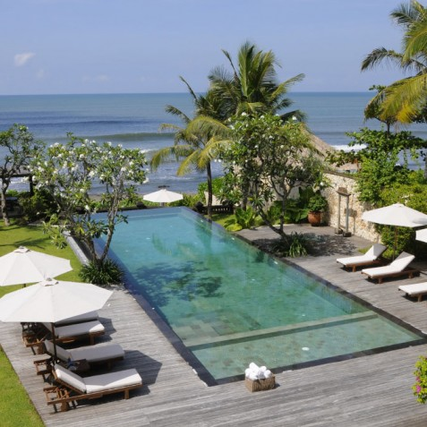 Villa Waringin - View from Upstairs Terrace - Pantai Lima, Canggu, Bali