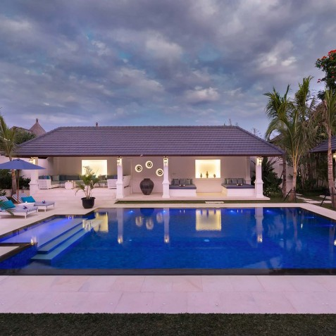 Villa Windu Asri - Pool and Living Rooms - Seminyak, Bali