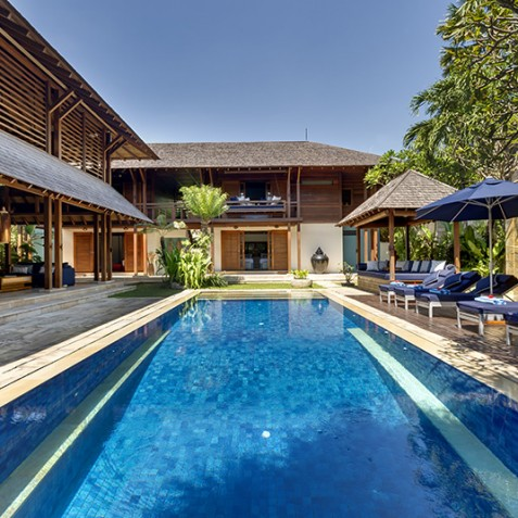 Villa Windu Sari - Pool - Seminyak, Bali