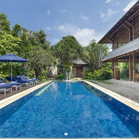 Villa Windu Sari - Pool and Sun Deck - Seminyak, Bali