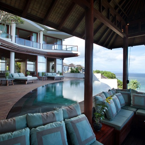 Bidadari Cliffside Estate, Nusa Dua, Bali - Pool Bale