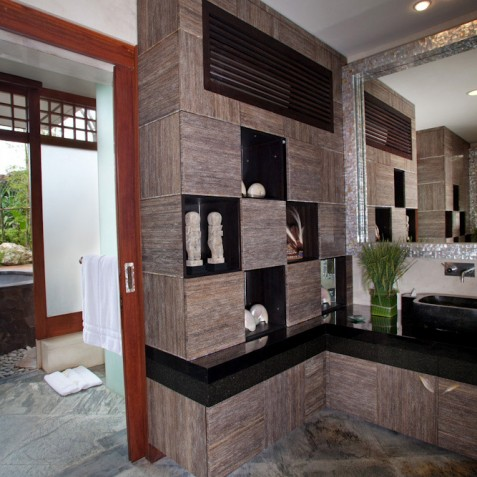 Bidadari Cliffside Estate, Nusa Dua, Bali - Guest Suite Bathroom