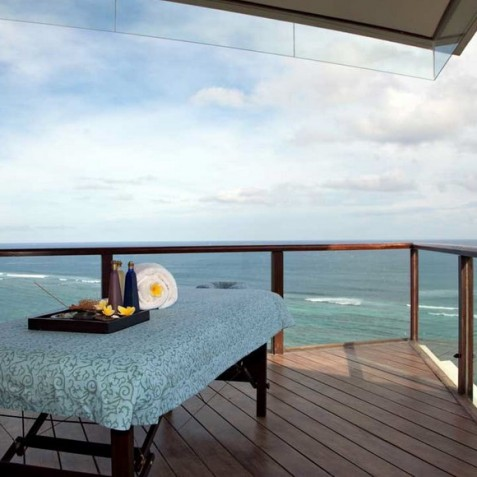 Bidadari Cliffside Estate, Nusa Dua, Bali - Massage on Balcony