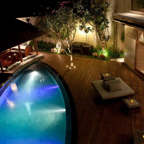 Bidadari Cliffside Estate, Nusa Dua, Bali - Pool and Bale