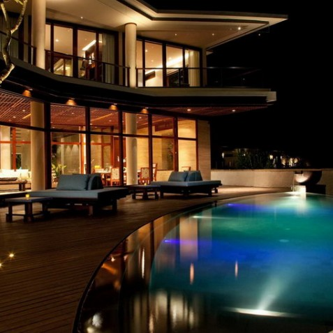 Bidadari Cliffside Estate, Nusa Dua, Bali - Villa at Night