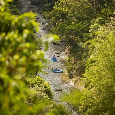 COMO Shambhala Estate, Bali - Ayung River - Water Rafting