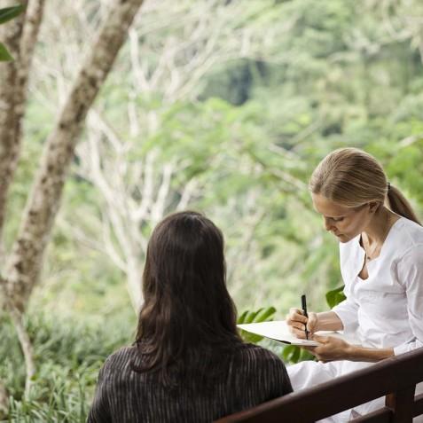 COMO Shambhala Estate, Bali - Consultations