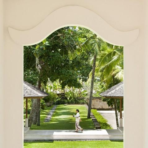 COMO Shambhala Estate, Bali - Lobby Courtyard