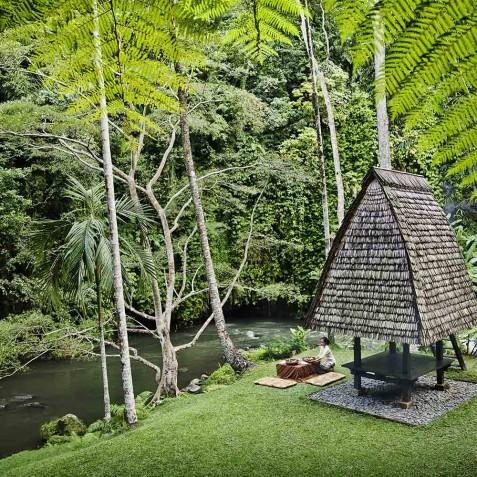 COMO Shambhala Estate, Bali - Picnic by the River