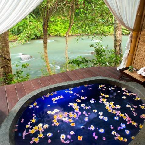 Fivelements Puri Ahisma, Bali - Bidadari Suite - 2 Bedrooms - Flower Bath