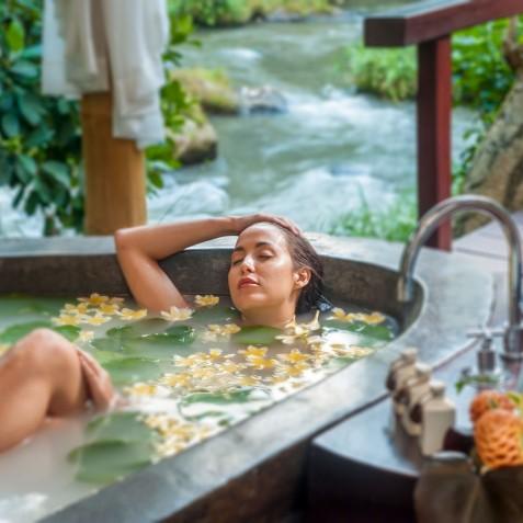 Fivelements Puri Ahisma, Bali - Beauty Sanctuary Spa Bath