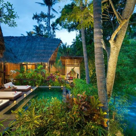 Fivelements Puri Ahisma, Bali - Bidadari Suite Evening