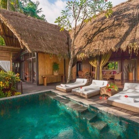 Fivelements Puri Ahisma, Bali - Bidadari Suites - Plunge Pool