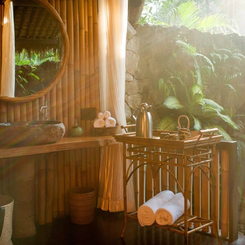 Fivelements Puri Ahisma, Bali - Riverfront Suite Bathroom