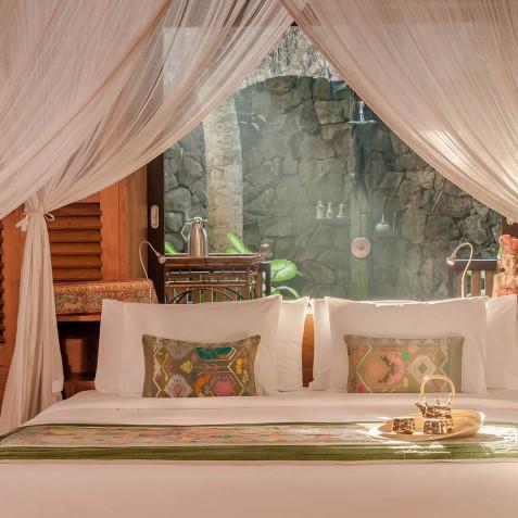 Fivelements Puri Ahisma, Bali - Riverfront Suite - Bedroom