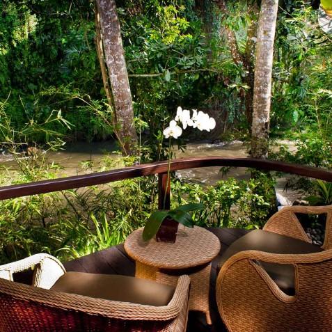 Fivelements Puri Ahisma, Bali - Riverfront Suite Terrace
