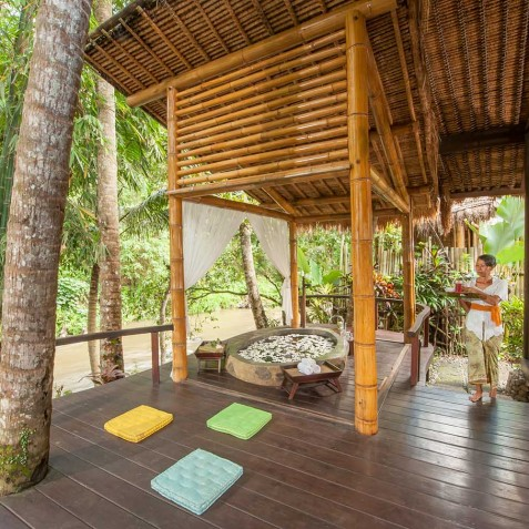 Fivelements Puri Ahisma, Bali - Riverfront Suite Veranda