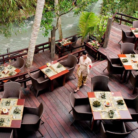 Fivelements Puri Ahisma, Bali - Riverside Dining
