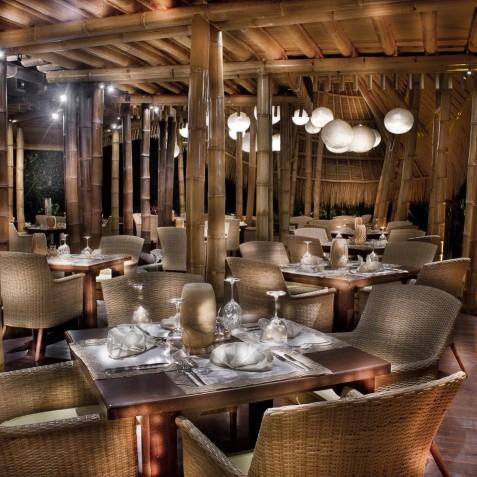 Fivelements Puri Ahisma, Bali - Sakti Dining Room in Evening