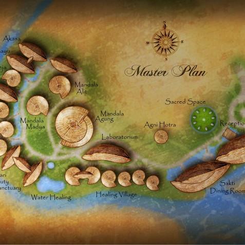 Fivelements Puri Ahisma, Bali - Site Plan