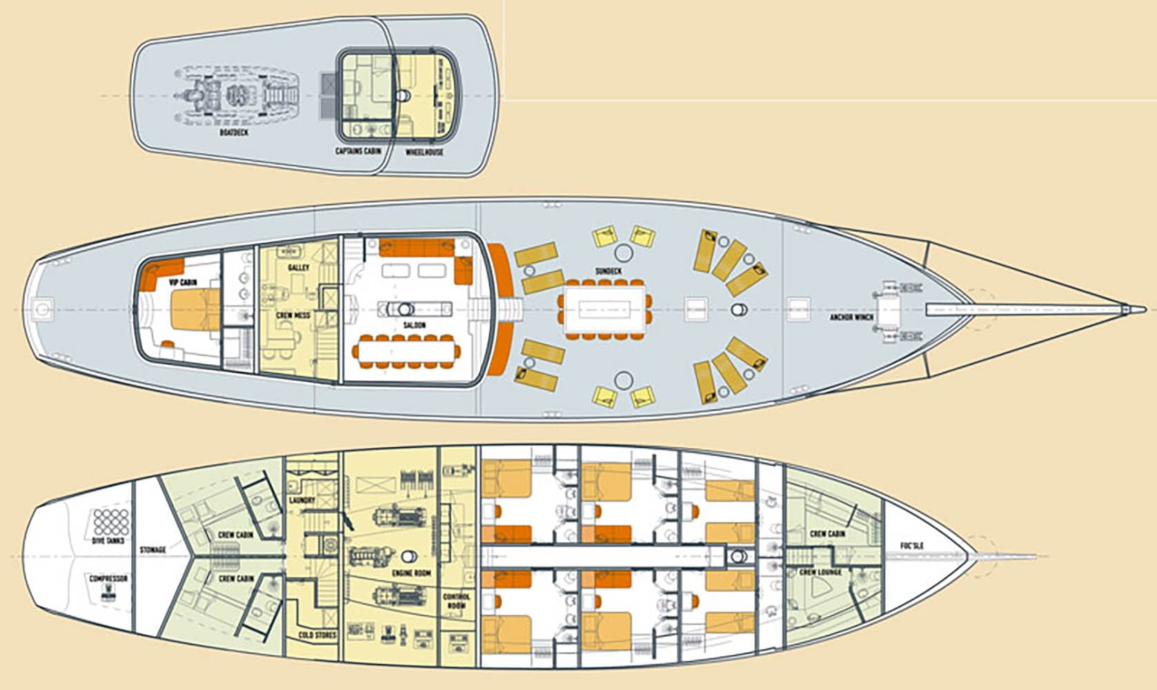 Mutiara-Laut-Deck-Plans
