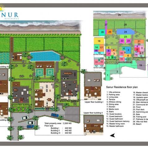 Sanur Residence Bali - Floor Plan