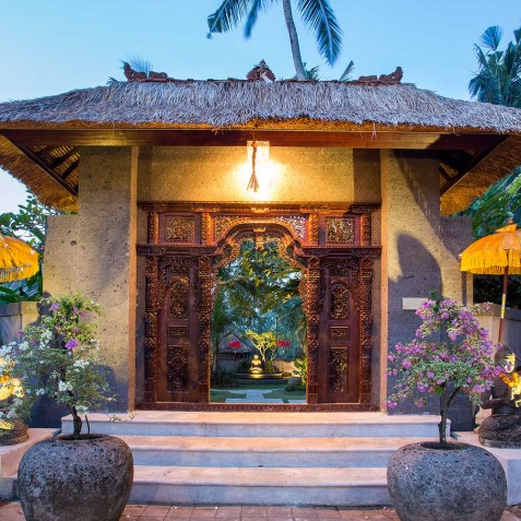 Sukhavati Ayurvedic Retreat & Spa, Bali - Entrance