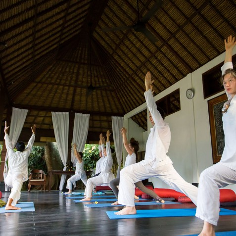 Sukhavati Ayurvedic Retreat & Spa, Bali - Yoga Pavilion
