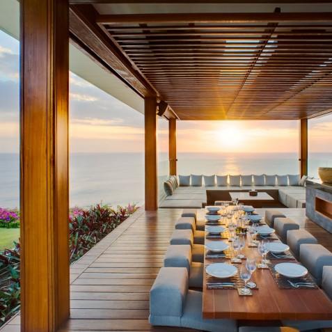The Istana Bali - Bale Sunset Dining - Uluwatu, Bali